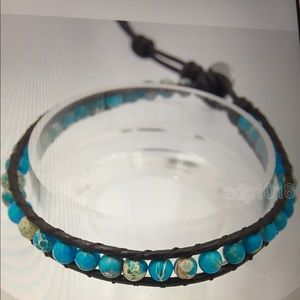 Jewelry - TURQUOISE & SEA SEDIMENT WRAP
